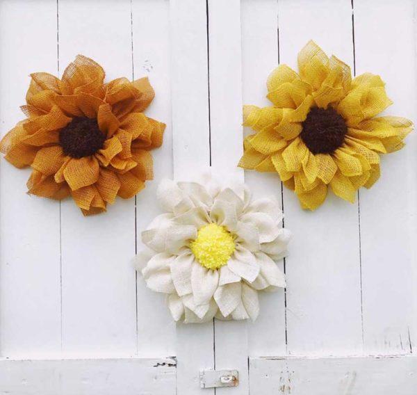 sunflower-daisy-nursery-decorations
