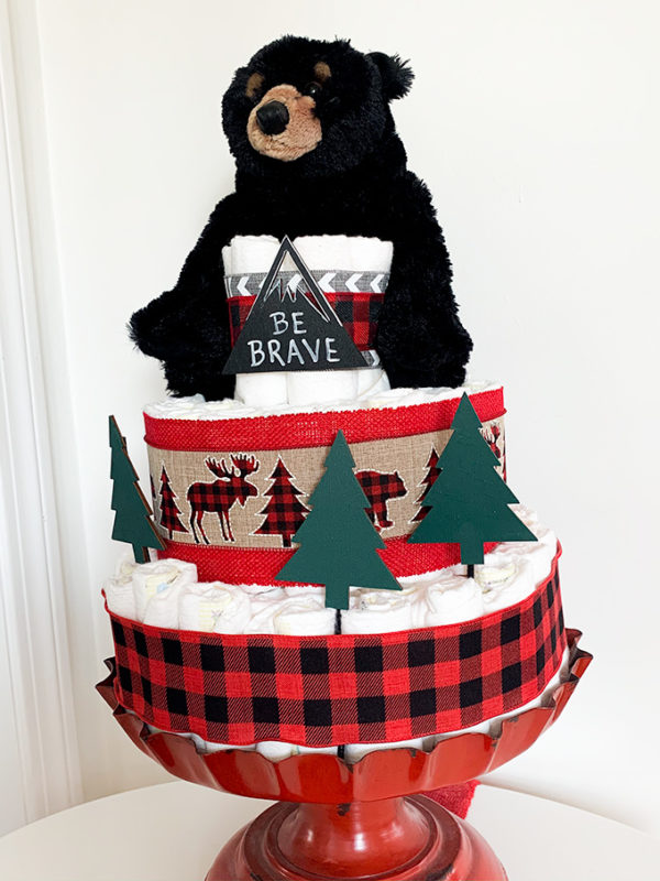 mountain_bear_diaper)cake