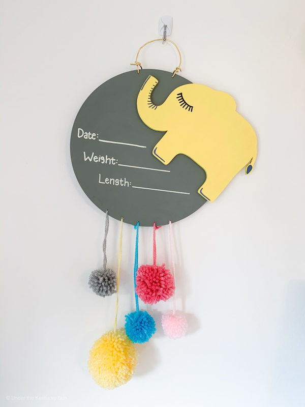 yellow_elephant_baby_name_sign