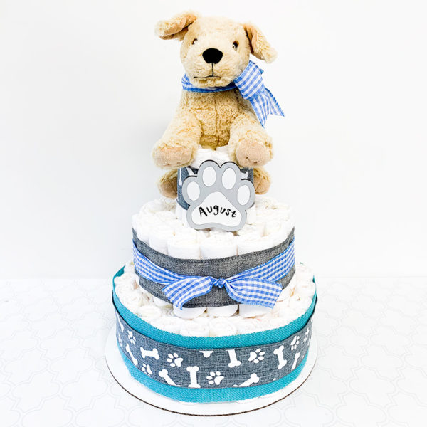 diaper_cake_with_puppy