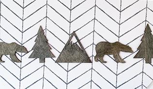 modern_boy_tribal_nursery_wall_art_bear